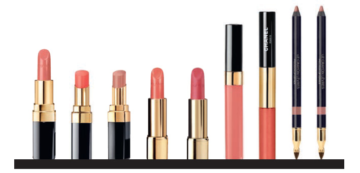 Chanel Le Rouge Makeup Collection  nudes