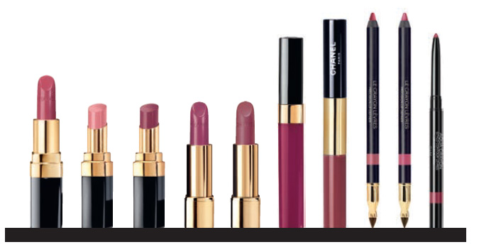Chanel Le Rouge Makeup Collection  plums