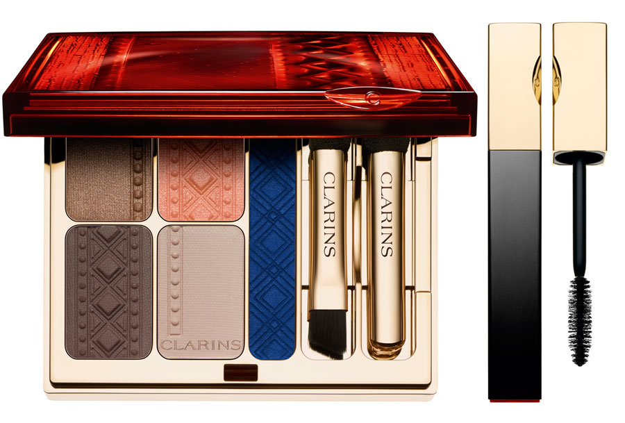 Clarins-Colours-of-Brazil-Makeup-Collection-for-Summer-2014-eye-palette-and-mascara