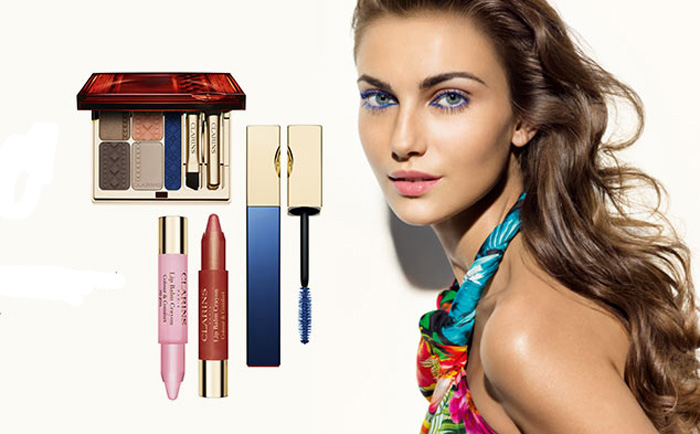 Clarins Colours of Brazil Makeup Collection for Summer 2014 promo