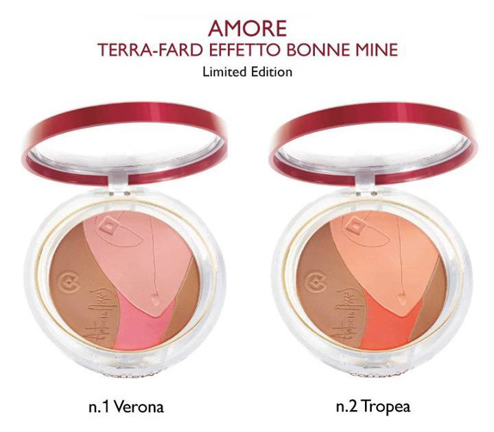 Collistar Antonio Marras Amore Bonne Mine Effect Bronzer- Blusher spring 2014