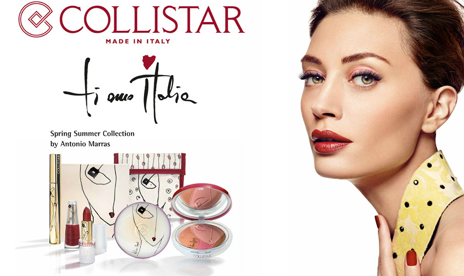 Collistar Ti Amo Italia makeup collection by Antonio Marras