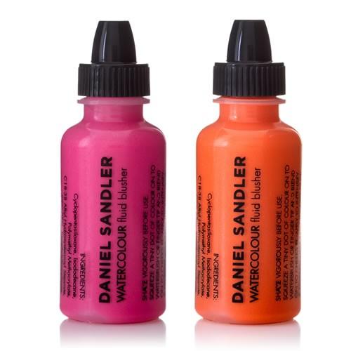 Daniel Sandler Cosmetics ACID AND TRIP WATERCOLOUR FLUID BLUSHER DUO Spring 2014