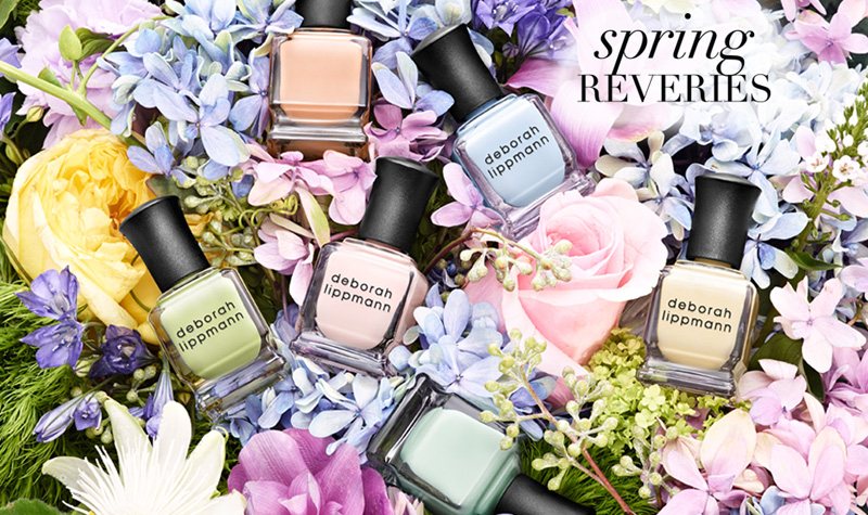 Deborah  Lippmann Spring 2014 nail polish collection