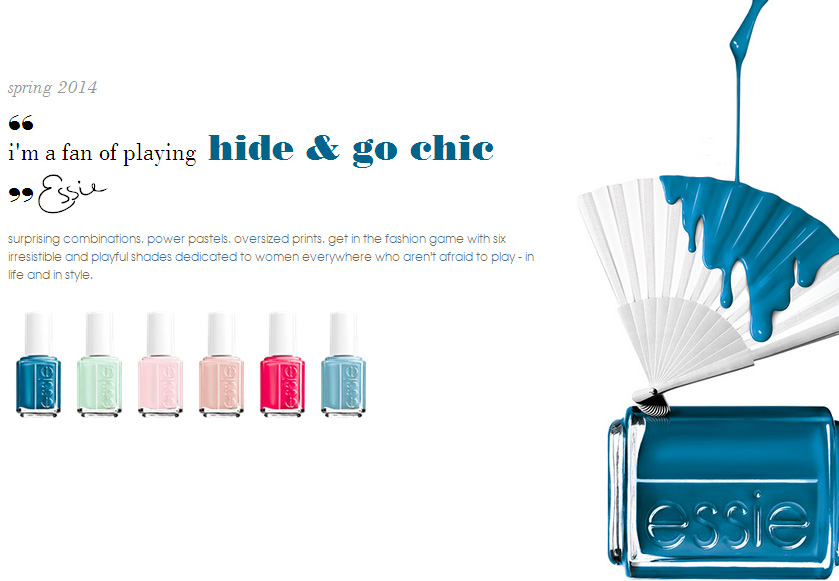 Essie Spring 2014 nail polish collection all shades