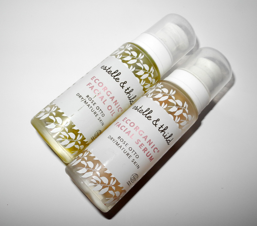 Estelle & Thild Rose Otto Advanced Age Prevent Facial Oil and Rose Otto Advanced Age Prevent Serum Review