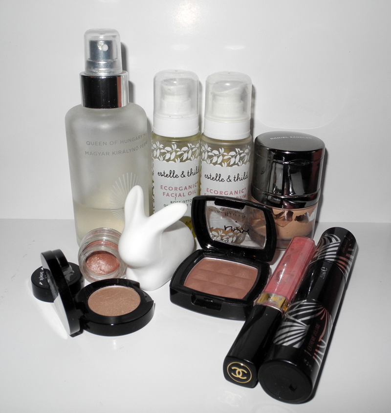February 2014 Beauty Favourites chanel max factor omorovicza benefit rouge bunny rouge