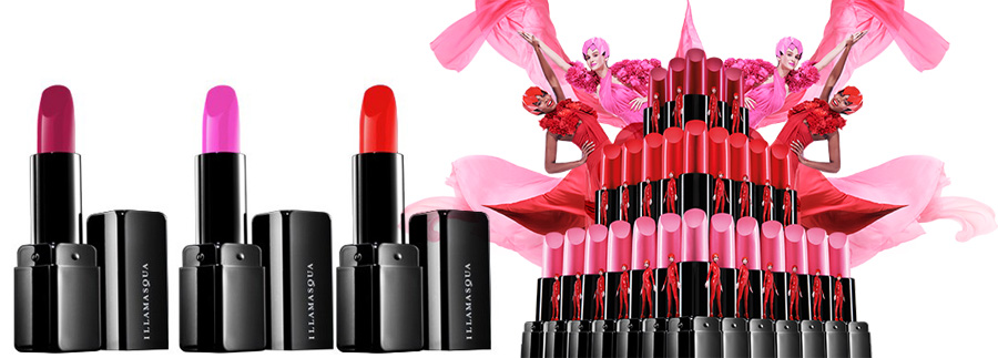Illamasqua Glamore Makeup Collection for Spring 2014 lipsticks