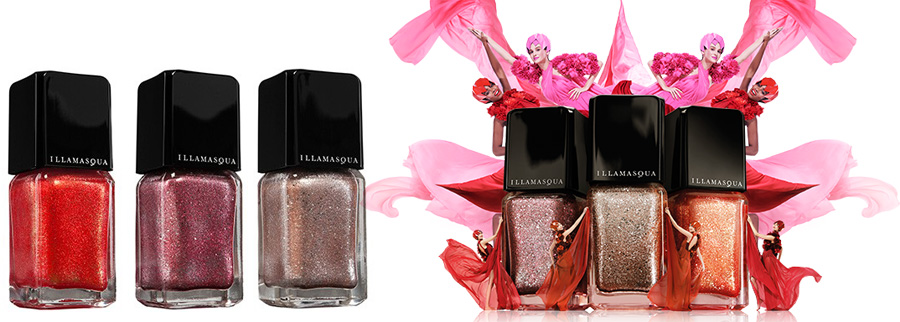 Illamasqua Glamore Makeup Collection for Spring 2014 nail varnish