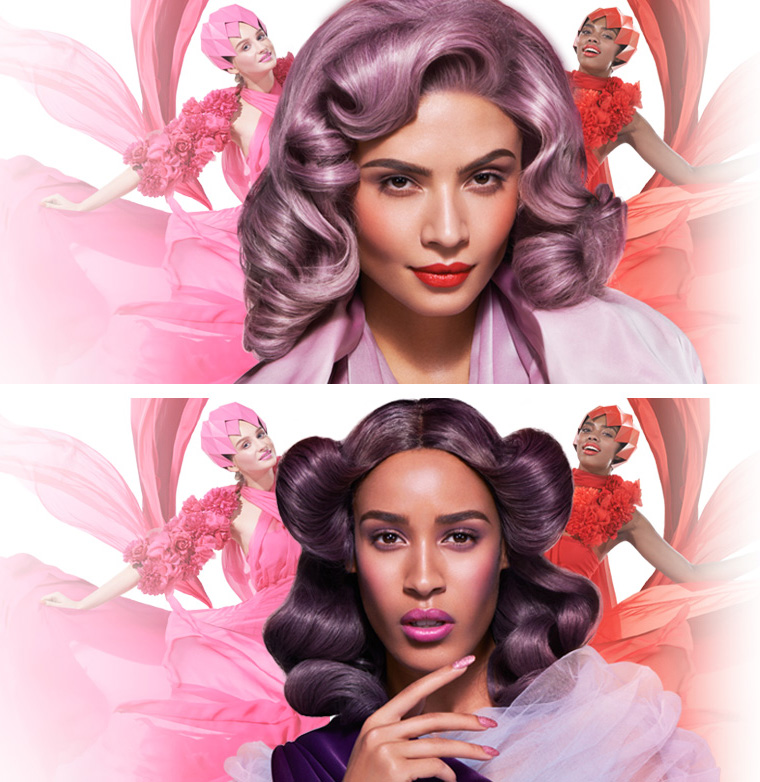 Illamasqua Glamore Makeup Collection for Spring 2014 promo girls