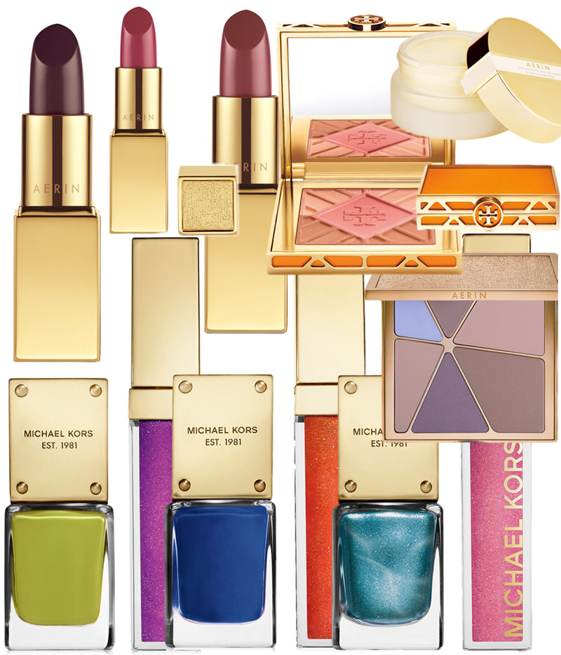 Michael Kors Aerin and Tory Burch beauty Spring 2014 makeup collections