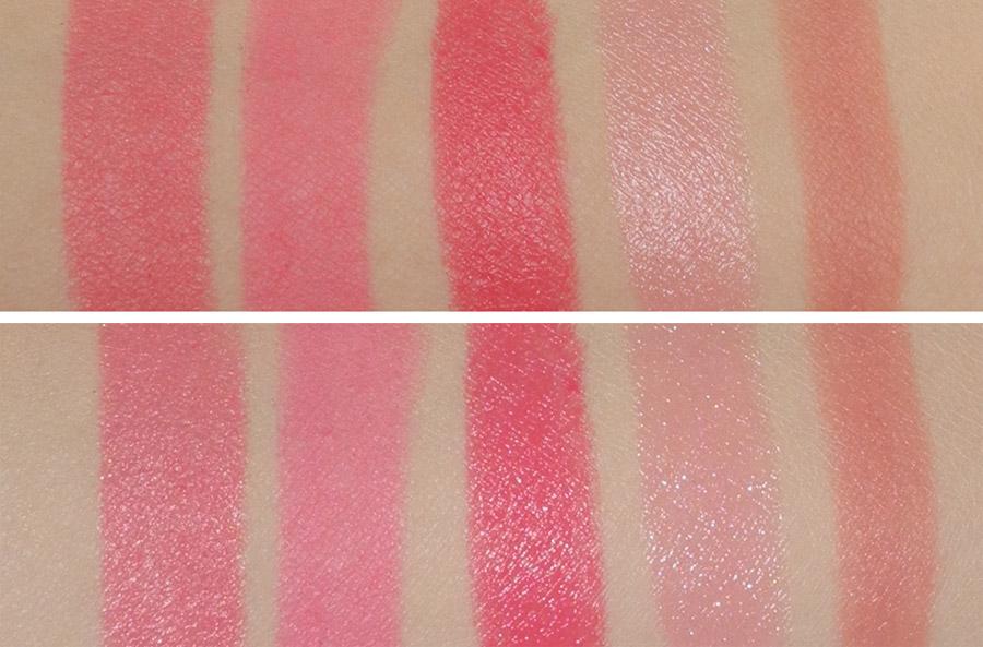 My Top 5 Pink Lipsticks Givenchy, Dior, Rimmel, BECCA and Illamasqua