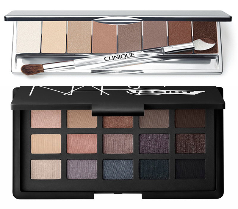 NARS The NARSissist Eye Palette and Clinique All About Shadow 8-Pan Eyeshadow Palette Spring 2014