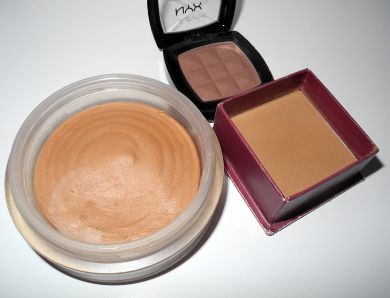 NYX Taupe Blush Review and Swatches benefit hoola and chanel bronze universel