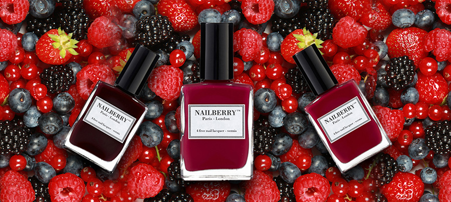 Nailberry  nail polish shades promo 1