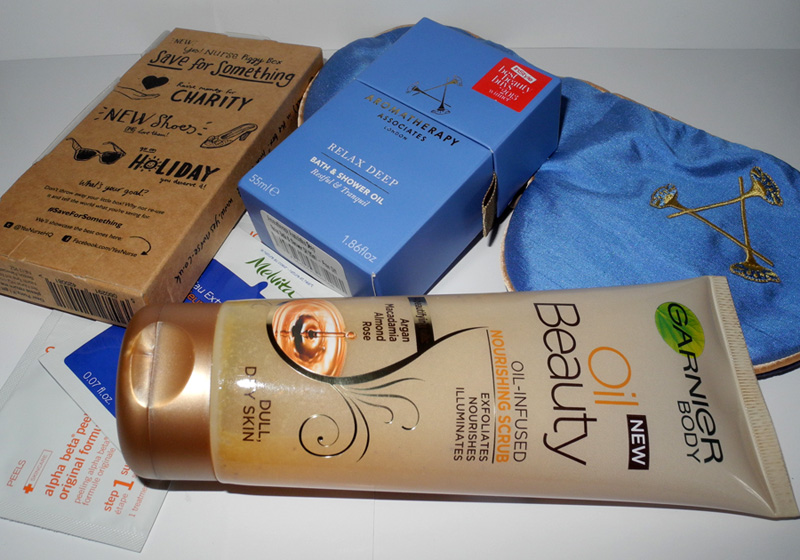New Beauty Purchases Aromatherapy Associates, Garnier and Yes Nurse makeup4all