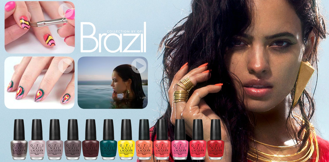 OPI Brazil nail polish collection spring 2014 all shades