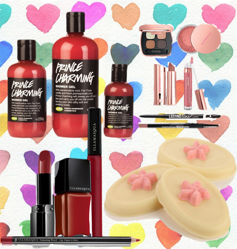 Valentines Day makeup4all beauty Illamasqua Lush and Bare Minerals