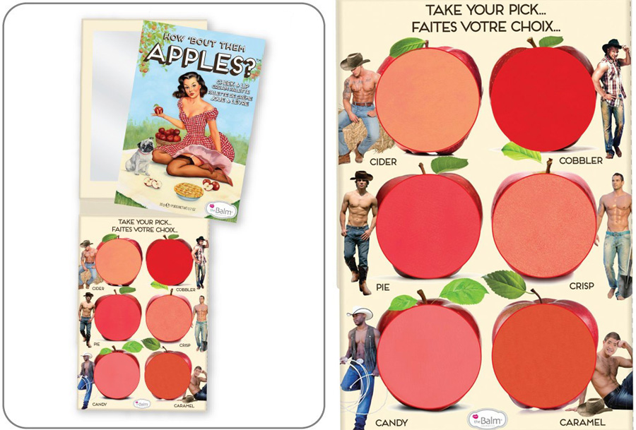 theBalm How 'Bout Them Apples Lip and Cheek Cream Palette spring 2014