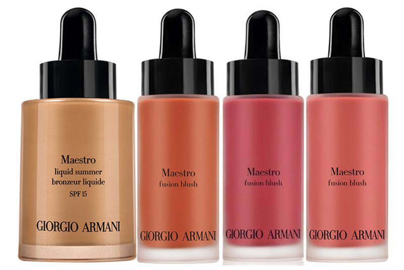 Armani Mediterranea Makeup Collection for Summer 2014 liquid blush and bronzer
