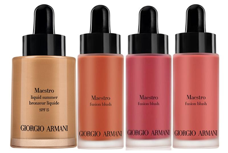 Armani Mediterranea Makeup Collection for Summer 2014 liquid blush and bronzer