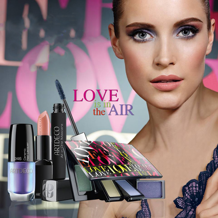 ArtDeco Love Is In The Air Makeup Collection for Spring 2014 promo