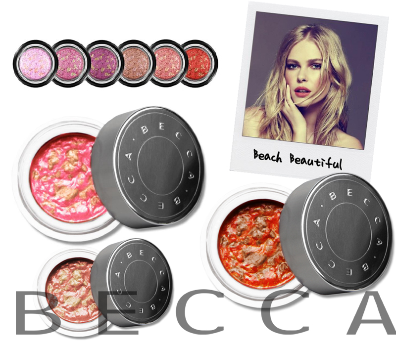 BECCA Beach Tint Shimmer Soufflé  for Summer 2014 promo makeup4all