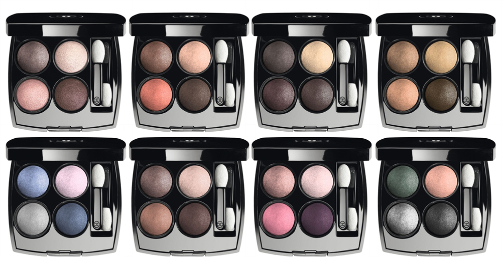 Chanel Les 4 Ombres Multi-Effect Quadre Eyeshadows all shades