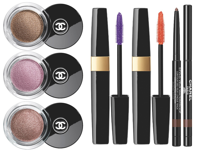 Chanel Reflets d'Été  de Chanel Makeup Collection for Summer 2014 eye products