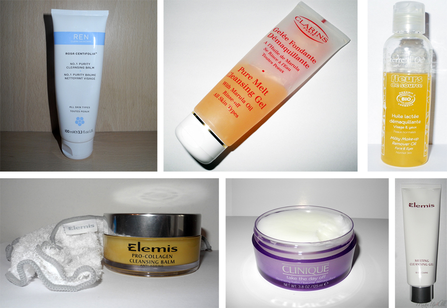 Cleansing Balms and Melting Cleansers Round-Up REN, Elemis, Clinique, Clarins, terre dOC