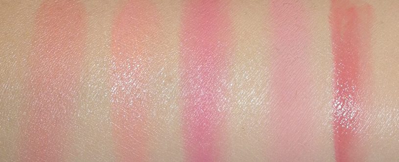 Five Pink Blushes for Spring BECCA daniel Sandler Illamasqua Benefit Clarins swatches