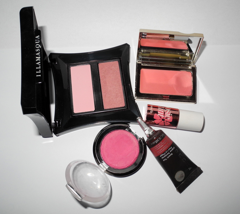 Five Pink Blushes for Spring BECCA daniel Sandler Illamasqua Benefit Clarins