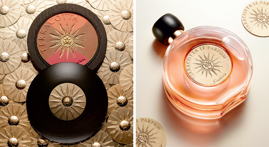 Guerlain Sun Celebration Makeup Collection for Summer 2014 blush and pefume