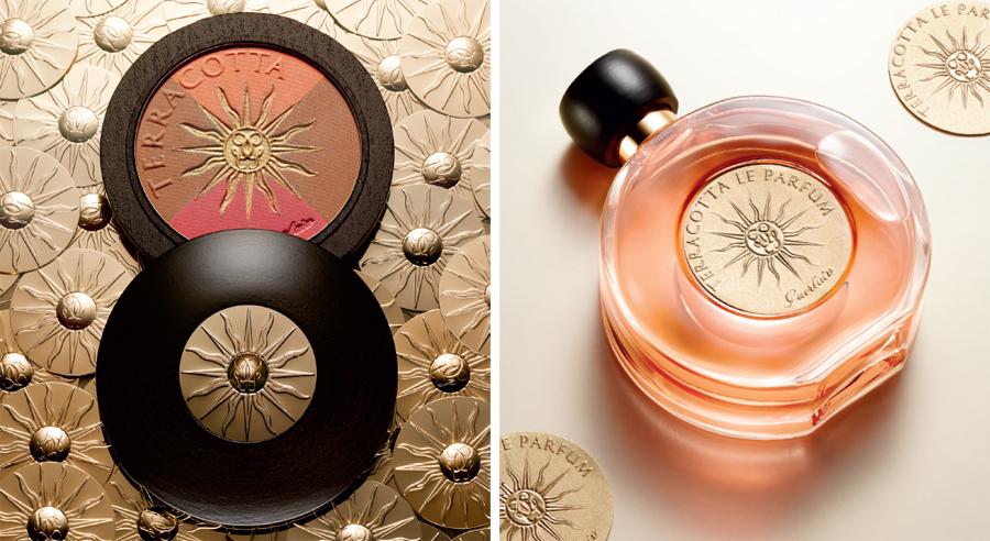 Guerlain Sun Celebration Makeup Collection for Summer 2014 blush and pefume
