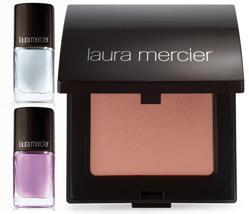 Laura Mercier New Attitude Makeup Collection for Summer 2014 face and nails