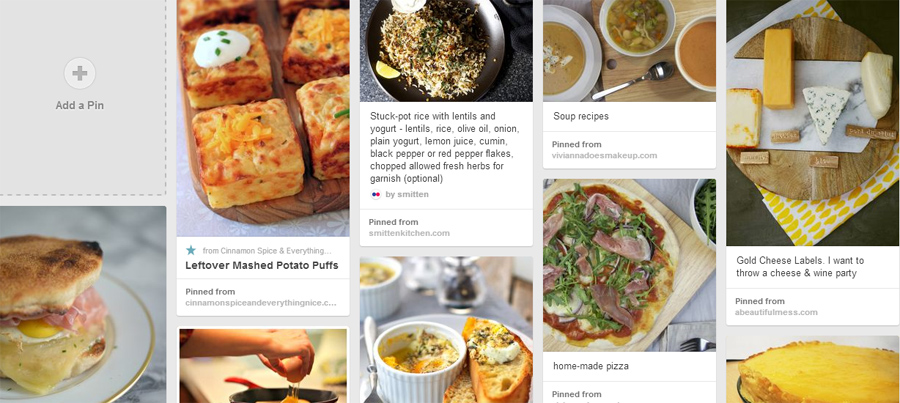 Makeup4all Pinterest food recipes