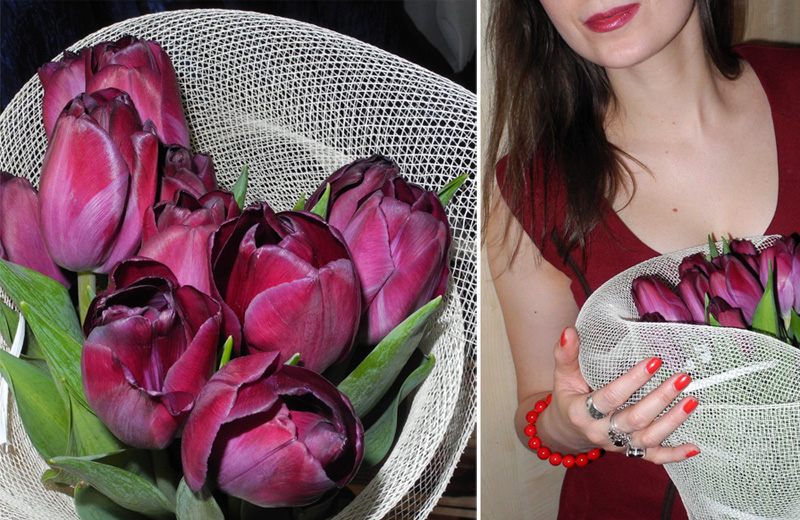 Marina Makeup4all tulips flowers birthday