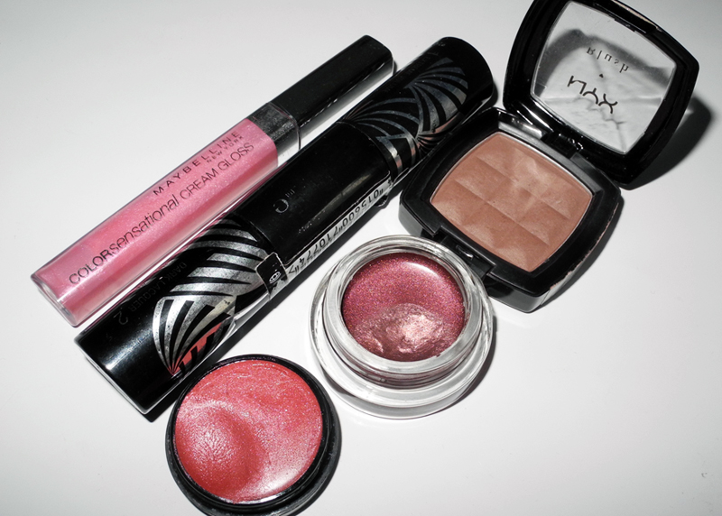 My Current Top 5 Affordable Makeup Products Max factor maybelline nyx