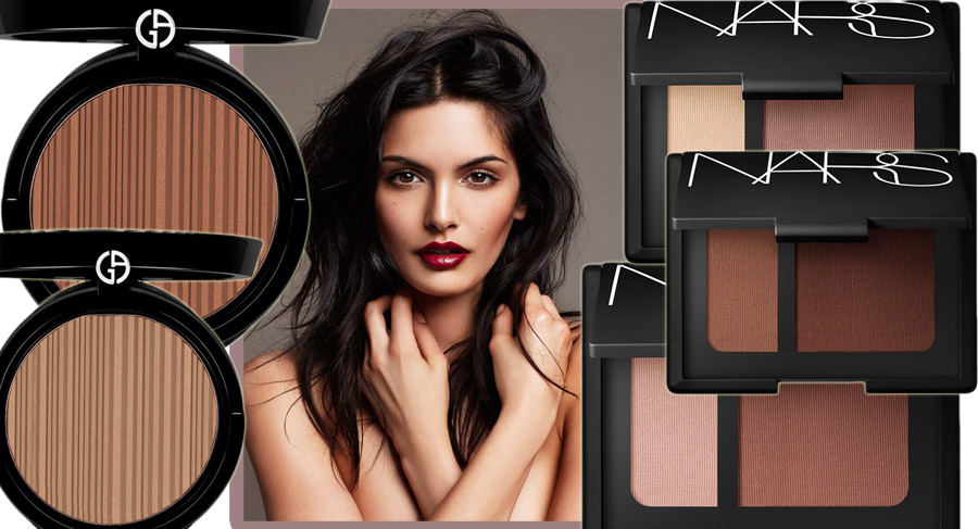 NARS Contour Blush  and Atmani Sun Fabric spring 2014