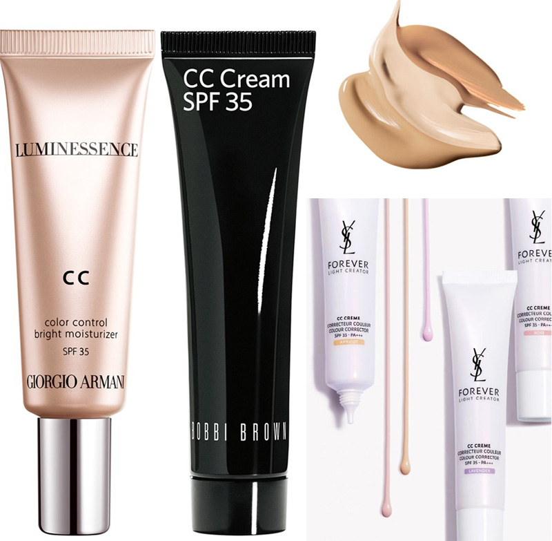 Spring 2014 CC Creams armani Bobbi Brown and YSL