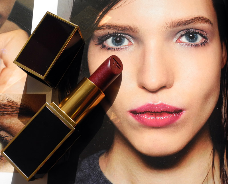 Tom Ford Lipstick in Bruised Plum Review and Swatches