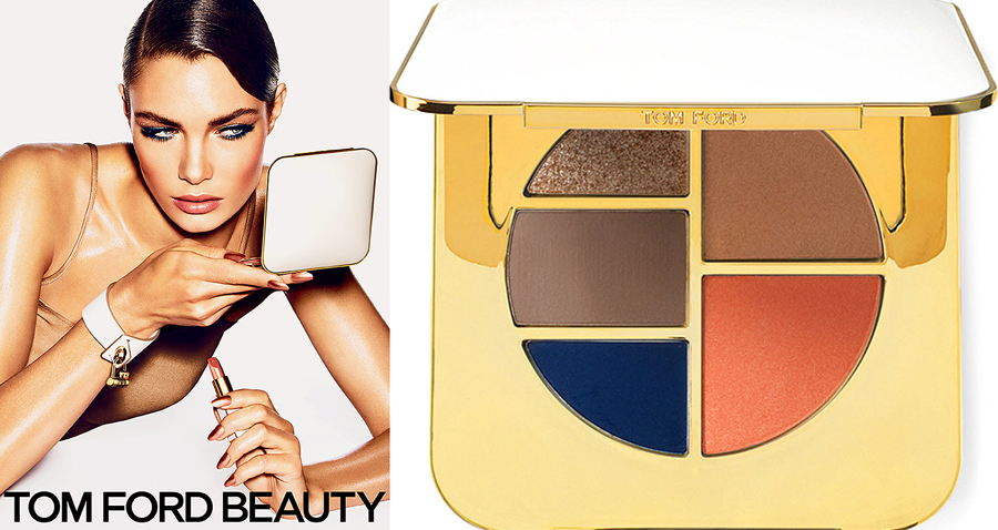 Tom Ford Makeup Collection for Summer 2014 promo and palette