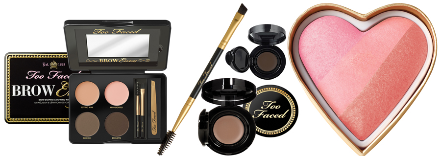 Too Faced Pardon My French Makeup Collection for Summer 2014 brows