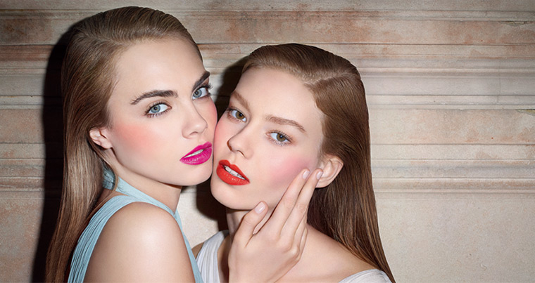 YSL Babydoll Kiss & Blush for Spring 2014 promo
