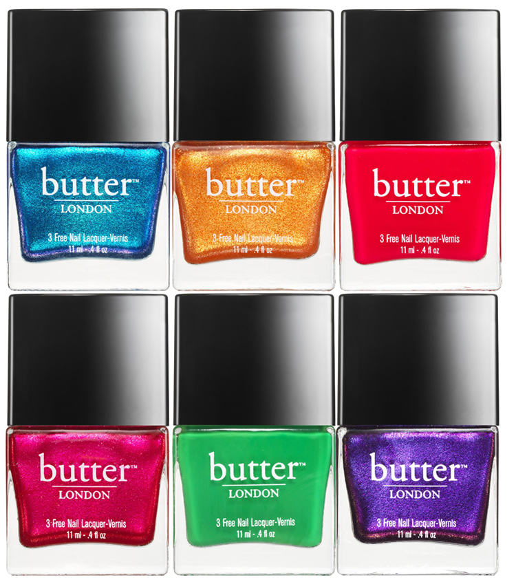 butter LONDON Lolly Brights Nail Polish Collection for Summer 2014 shades