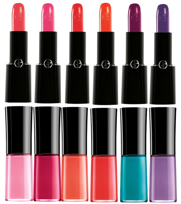 Armani Bright Ribbon Makeup Collection for Summer 2014 all shades