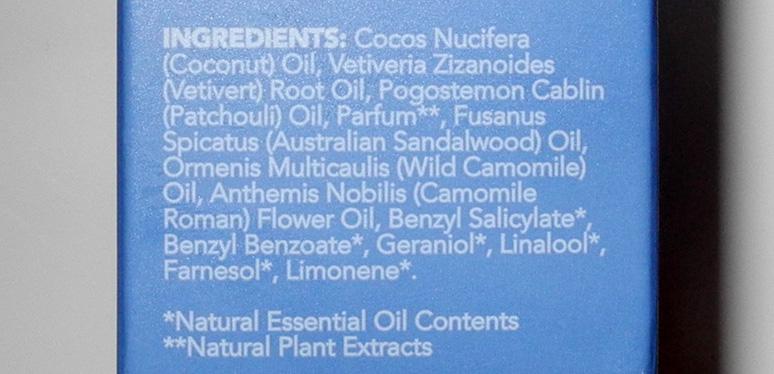 Aromathepary Assosiates Deep Relax Bath and Shower Oil ingredients