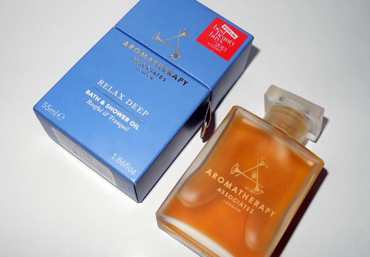 Aromathepary Assosiates Deep Relax Bath and Shower Oil review