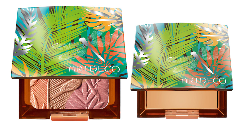 ArtDeco Jungle Fever Makeup Collection for Summer 2014 beauty box and blush