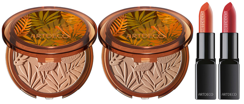 ArtDeco Jungle Fever Makeup Collection for Summer 2014 bronzers and lipsticks